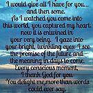 My Hope My Joy My Love by DiamanteLavenda