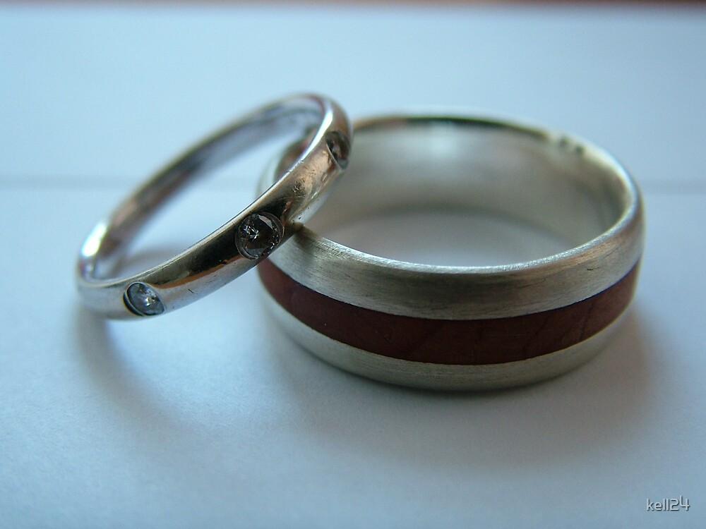 wedding rings by kell24