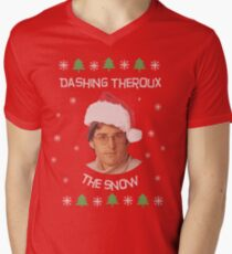 Dashing Theroux the snow - Louis Theroux themed T-Shirt