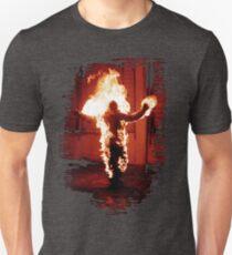 Rammstein burning man Unisex T-Shirt