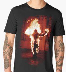 Rammstein burning man Men's Premium T-Shirt