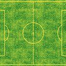 Soccer pitch by EnjoyRiot