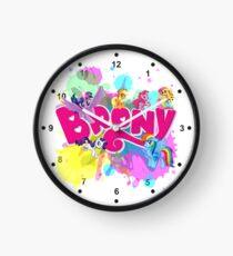 my little pony brony Clock