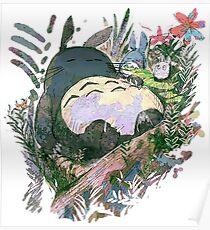 Ghibli - Totoro Poster