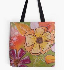flowerlove orange Tasche