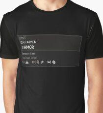 RPG TW3 Armor T-Shirt Graphic T-Shirt