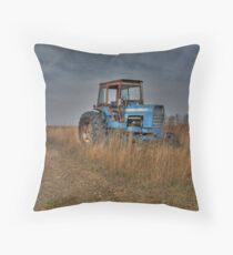 Ford Tractor Throw Pillow