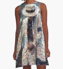 MJJ Mosaic Smooth Criminal A-Line Dress
