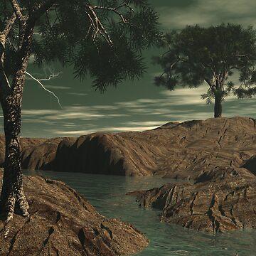Cedars of Illysis01 - Summer by Sazzart