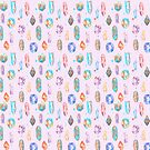 Magical Crystal Pattern by maggiedrawsgood