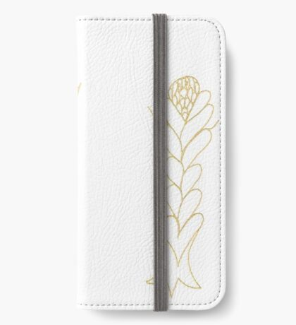 Flouncing Flora iPhone Wallet