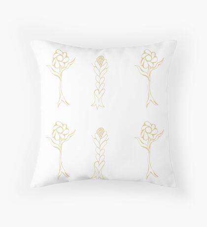 Flouncing Flora Floor Pillow