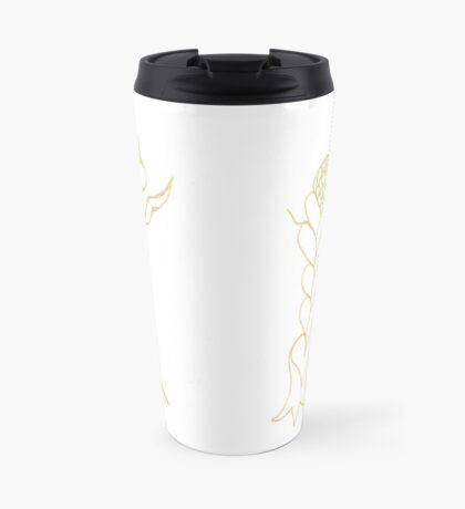 Flouncing Flora Travel Mug