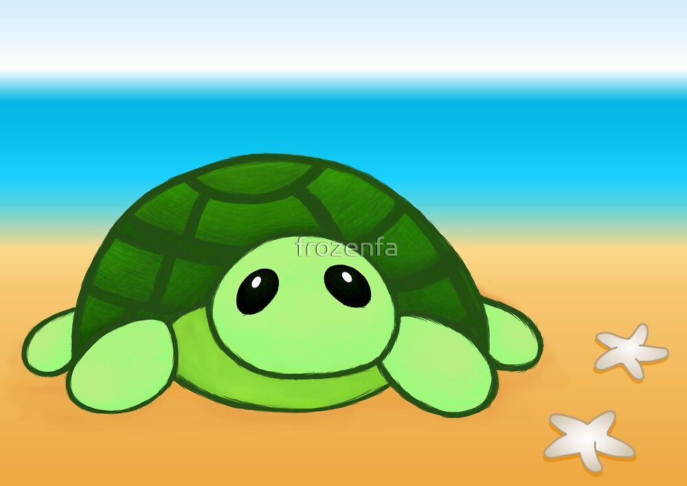 Kenny - The Baby Tortoise by frozenfa