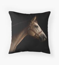 Buckskin Horse I Throw Pillow