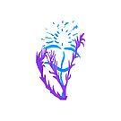 Blue & Purple Flowers by KazM