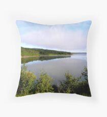lake of the prairies Throw Pillow