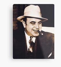 Al Capone Portrait Metal Print