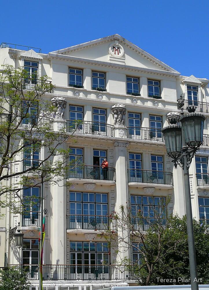 Rossio.Lisbon by terezadelpilar ~ art & architecture