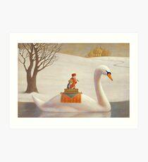 The White River Art Print