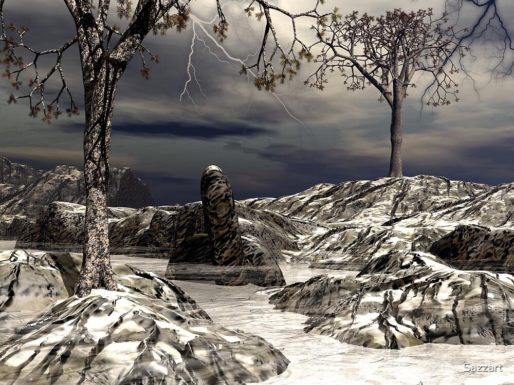 Cedars of Illysis03 - Winter by Sazzart