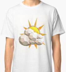 Cartoon Sun in Low Poly Style Classic T-Shirt