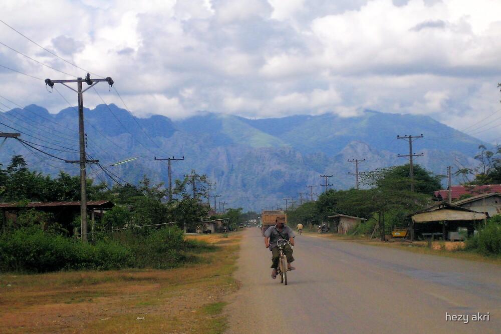 laos landscape by hezy akri
