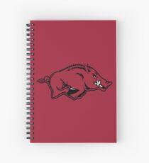 Arkansas Razorbacks Spiral Notebook