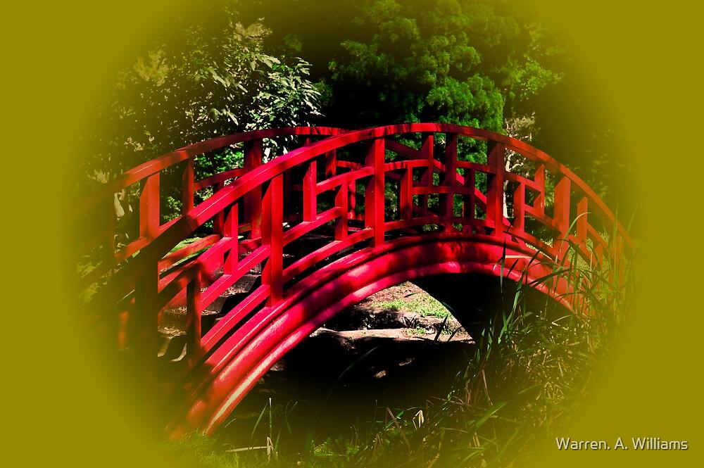Little Red Bridge by Warren. A. Williams