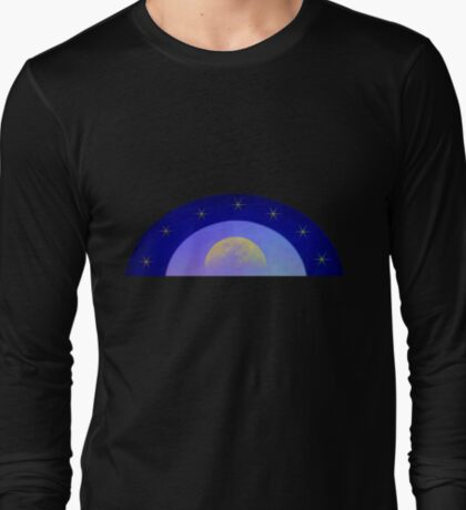 MOON WITH STARS T SHIRT  LARGE IMAGE T-Shirt