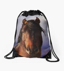 Palomino Valley Wild Horses Drawstring Bag