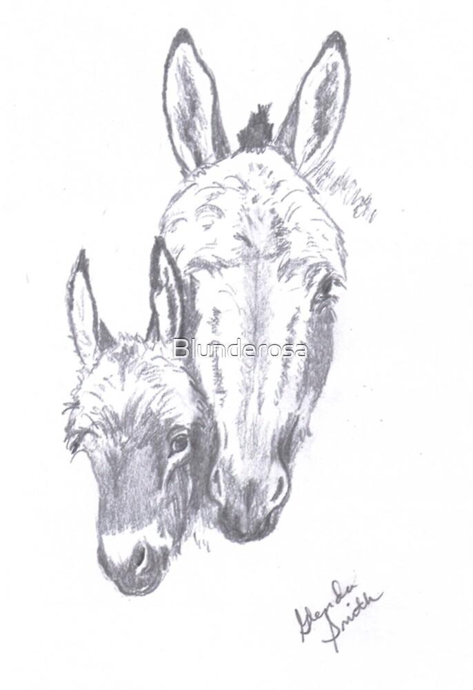 Burros...donkeys with Attitude by Blunderosa