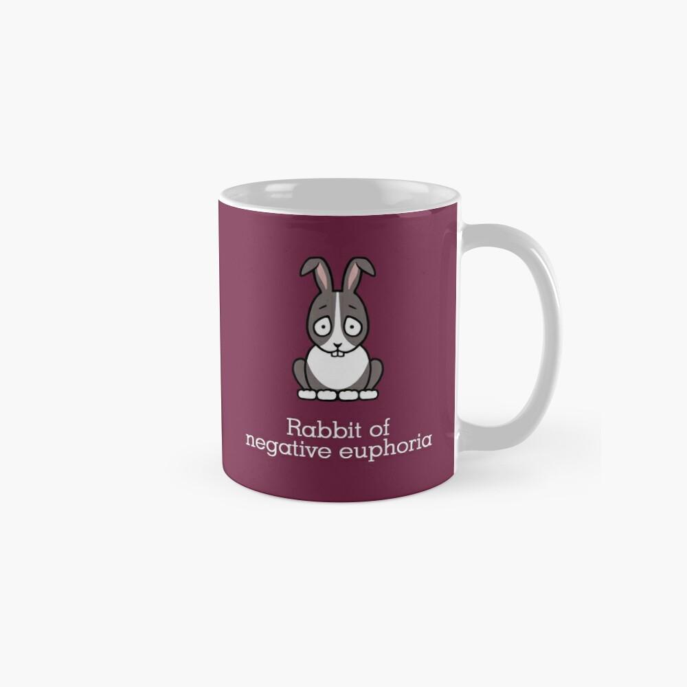Rabbit of Negative Euphoria Mugs