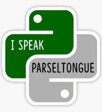 Python HP Sticker