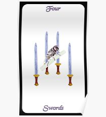 Four of Swords Poster