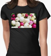 Onions Womens Fitted T-Shirt