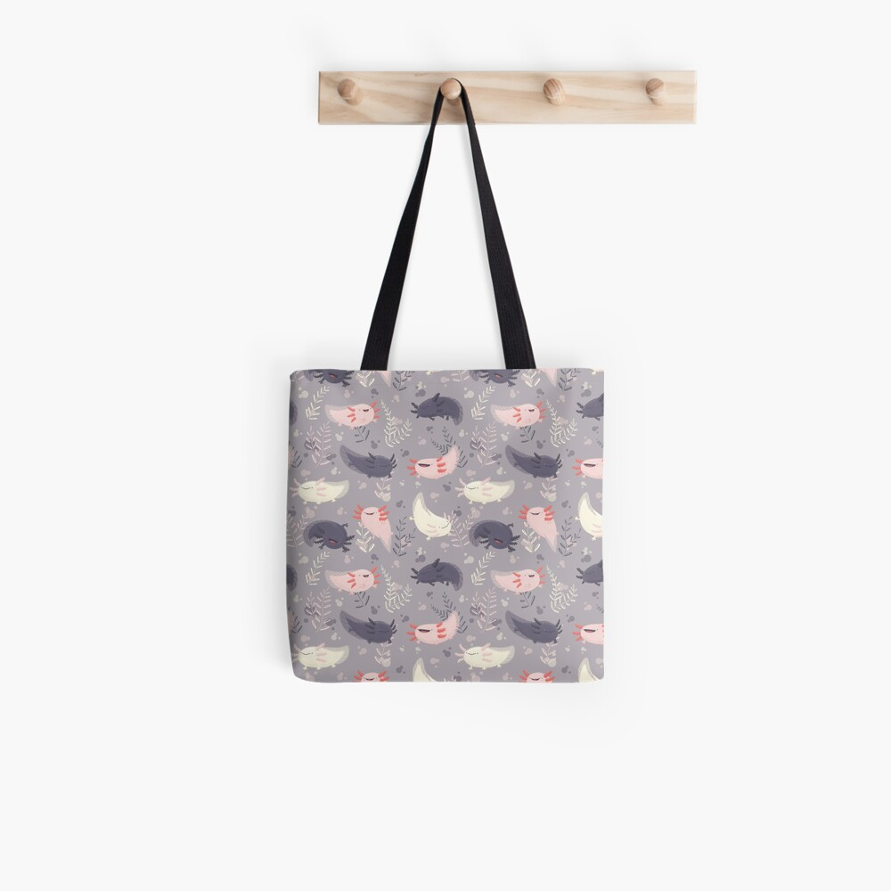 Fatsolotls Tote Bag