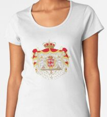 Coat of Arms of the Polish-Lithuanian Commonwealth Women's Premium T-Shirt