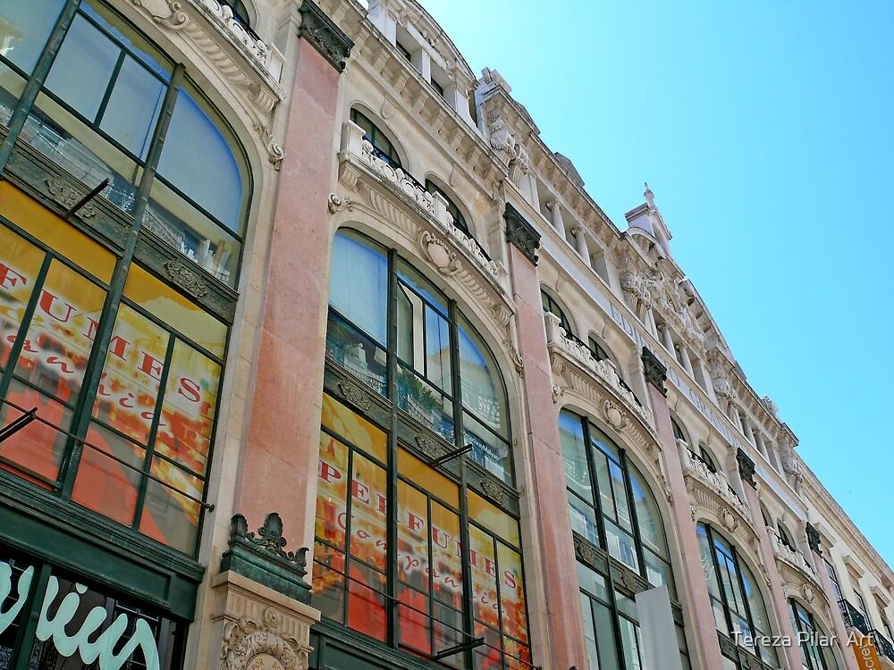 Chiado.Lisbon by terezadelpilar ~ art & architecture
