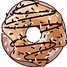 Toffee und Schokoladen Donut von XOOXOO