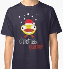 Christmas quacker novelty festive Christmas design Classic T-Shirt