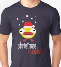 Christmas quacker novelty festive Christmas design T-Shirt
