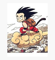 Kid goku Photographic Print