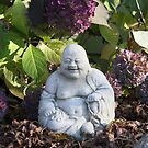 Purple Buddha by Judi FitzPatrick