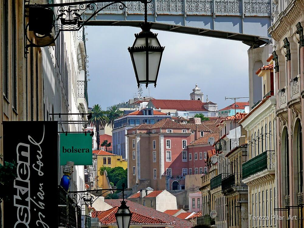 Rua do Carmo view by terezadelpilar ~ art & architecture