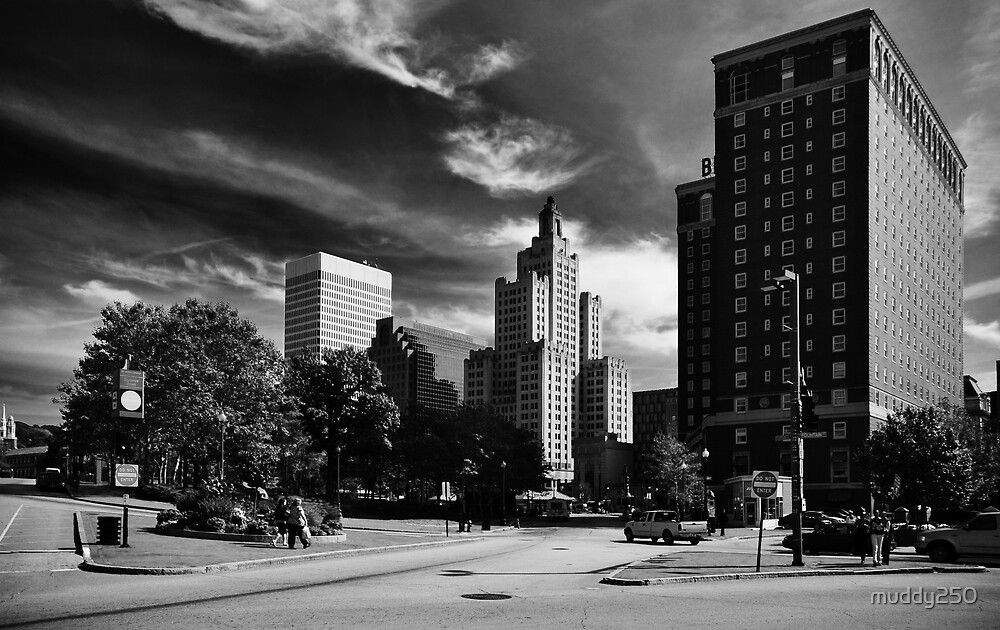 Downtown Providence by Chris Charlesworth