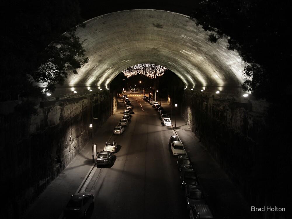 "Argyle St ""Under the Bridge"" by Brad Holton"
