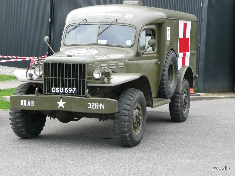 US Army  Ambulance (photo) by Woodie