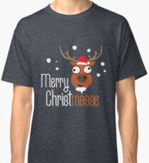 Merry Christmoose, novelty festive Christmas design Classic T-Shirt