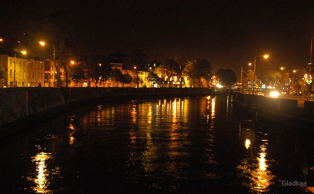 Night out, Cork Ireland by Gladkaa